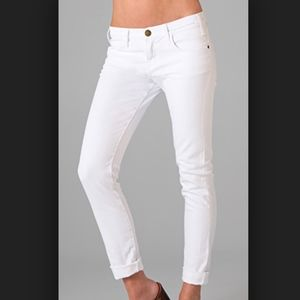 Current/Elliot The Roller Jeans in White
